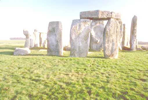 Stonehenge, Salisbury Plain, England - at least 4000 years old and built over 1000 years